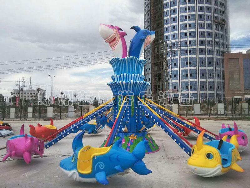郑州梦之cheng注册8臂鲨鱼自控feiji在河北邯郸游乐场shi运行成gong