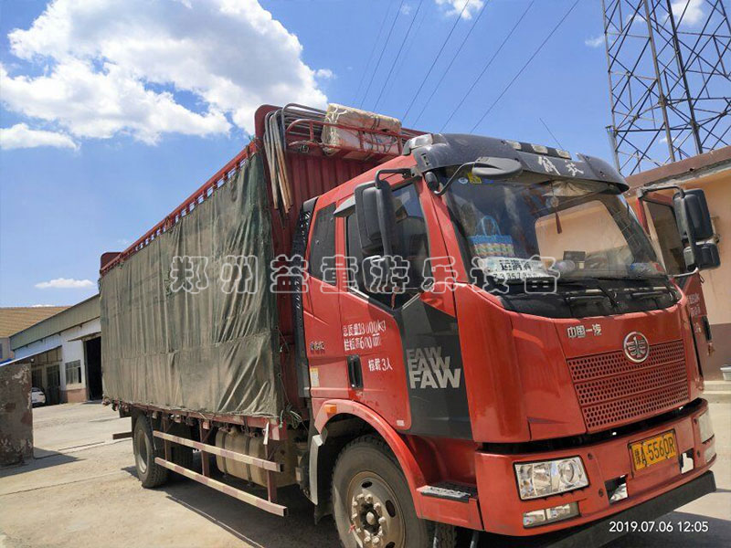 水上拓展设备和网红qiaoda包装车