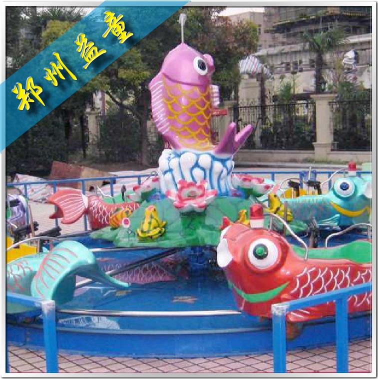 夏季火爆的li鱼跳long门游乐设备