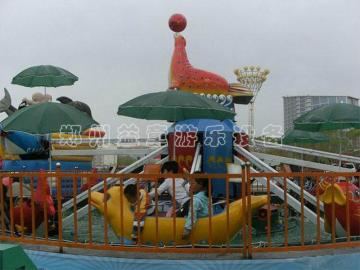 hai豚戏水儿童游乐场设备的介绍