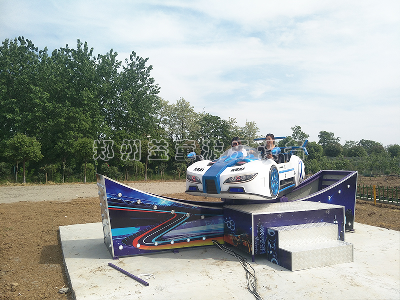新款极速飞che_公园白色旋zhuan漂移汽che亿游2设备